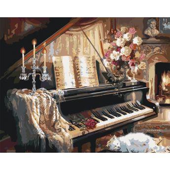 Фото Картины на холсте по номерам, Букеты, Цветы, Натюрморты KH 2506
