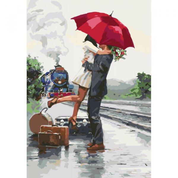 Фото Картины на холсте по номерам, Романтические картины. Люди KH 2676