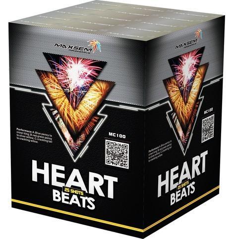 "Фейерверк Салютная установка 25 залпов ""HEART BEATS"""