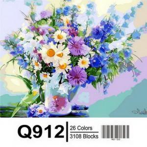 Фото Картины на холсте по номерам, Букеты, Цветы, Натюрморты Q912