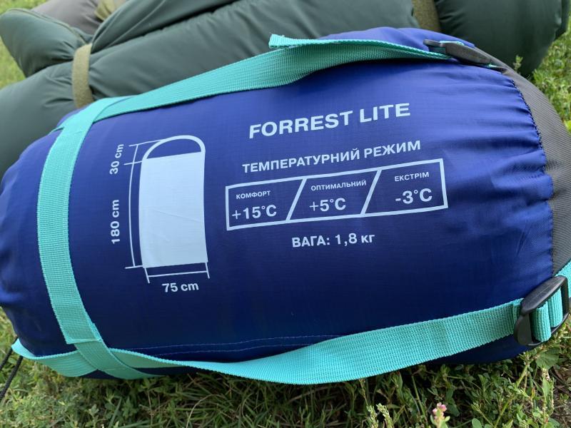 Фото Палатки ,спальники , Спальники Спальник Forrest (туристический)