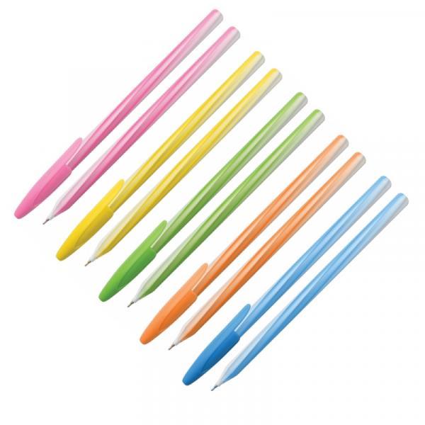 """Ручка шариковая """"Fresh up"""" одноразовая, 0,7мм, масляный стержень"""