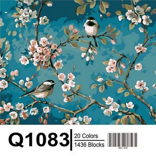 Фото Картины на холсте по номерам, Животные. Птицы. Рыбы... Q1083 Роспись по номерам 40х50см