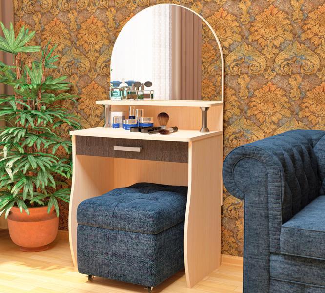 Фото Столы туалетные, журнальные, столы-тумбы Туалетный столик Галант-3 (Пирамида)