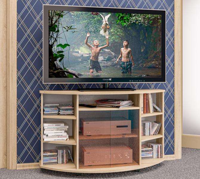 Фото Тумбы, тумбы для ТВ Тумба для телеаппаратуры ТВ-9 (Пирамида