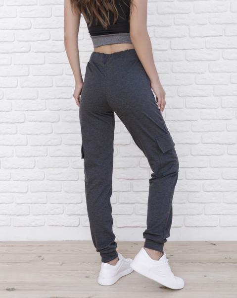 Фото  Спортивные штаны ISSA PLUS 9980  S темно-серый