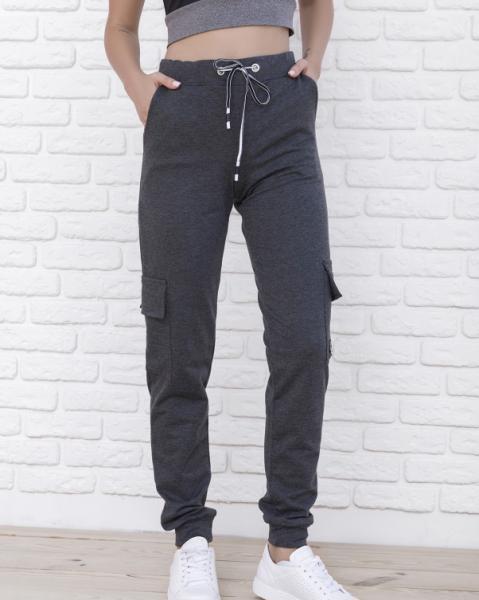 Фото  Спортивные штаны ISSA PLUS 9980  L темно-серый