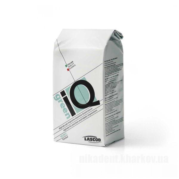 Фото Для стоматологических клиник, Материалы, Оттискные материалы Альгинатная масса IQ green Lascod