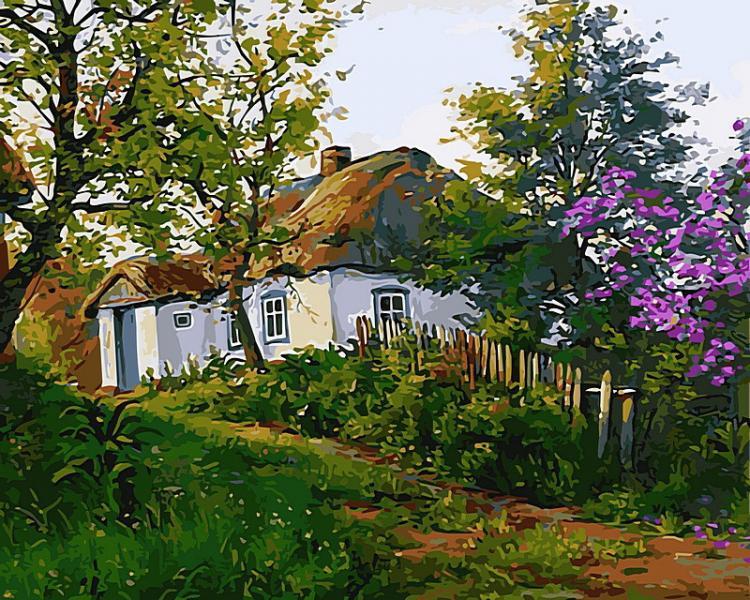 Фото Картины на холсте по номерам, Моя Україна VP 497