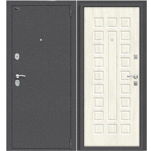 Фото ДВЕРИ НА УЛИЦУ СЕРИИ СТАНДАРТ Дверь стандарт SOLID(антик серебро)