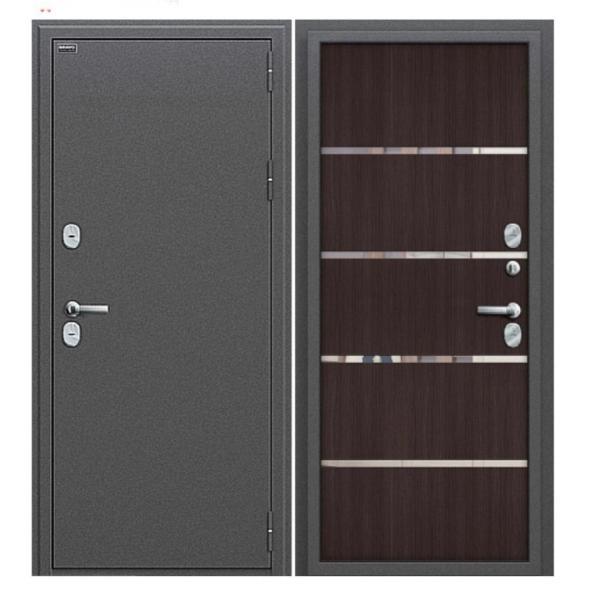 Дверь Титан -металл 2мм.(антик серебро)НОВИНКА