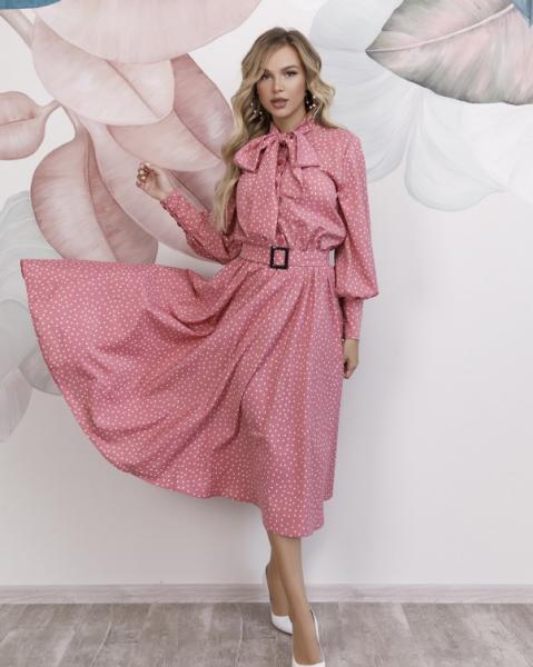 Фото  Платья ISSA PLUS 12166  S розовый