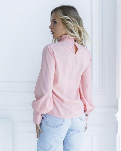 Фото  Блузы ISSA PLUS SA_10  XL розовый