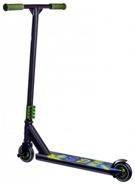 Фото ТРЮКОВІ САМОКАТИ Трюковий Самокат для стрибків Maraton Active (чорний, зелений)