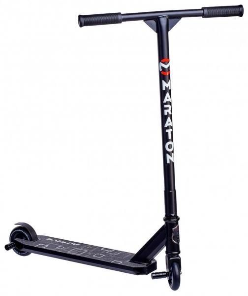 Трюковий Самокат для стрибків Maraton Active (чорний)