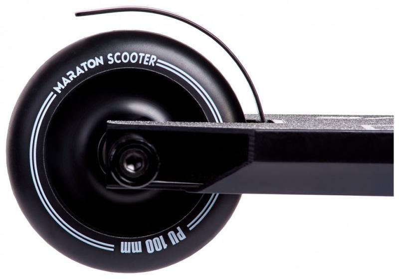 Фото ТРЮКОВІ САМОКАТИ Трюковий Самокат для стрибків Maraton Active (чорний)
