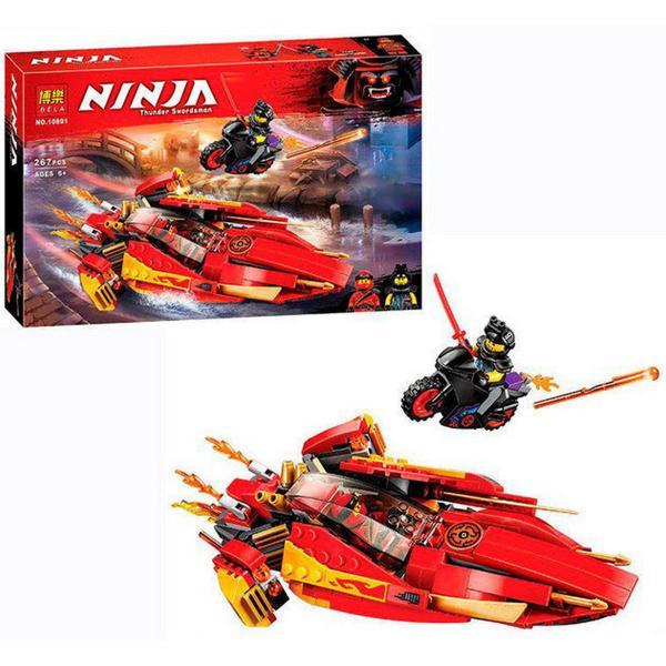 Фото Конструкторы, Конструкторы типа «Лего», Ниндзя Го (Ninja Go) 10801 Koнcтpуктop Bela Ninja «Kaтaнa V11» 267 дeт.