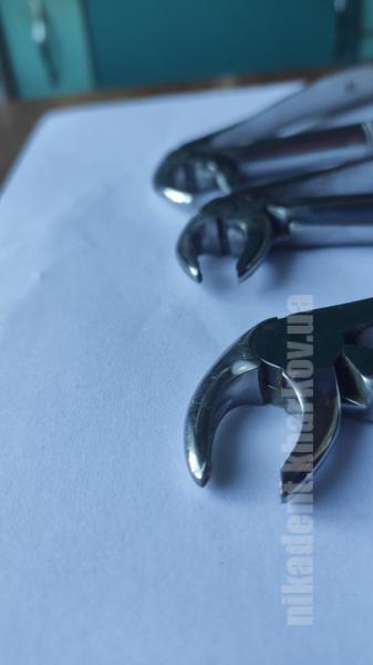 Фото Для стоматологических клиник, Инструменты Щипцы байонеты с узкими губками для удаления корней зубов