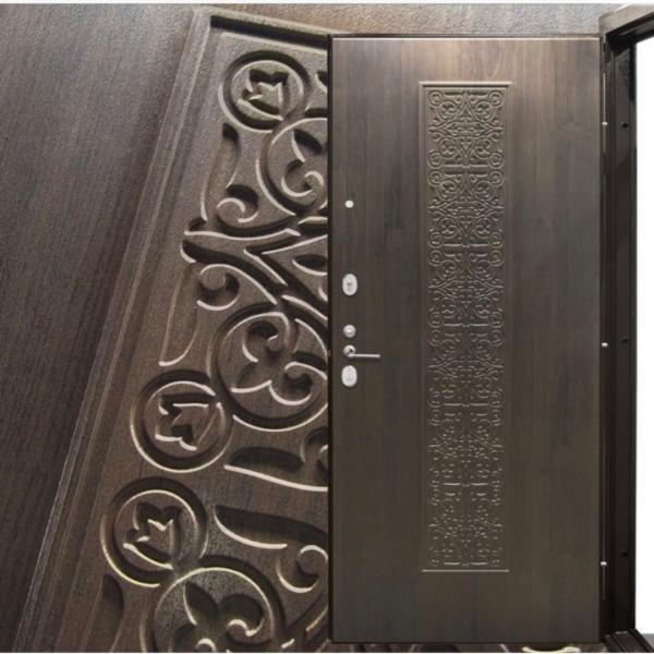 Фото ДВЕРИ В КВАРТИРУ СЕРИИ СТАНДАРТ Дверь  АТ-1 Орхидея(замки италия-MOTTURA)