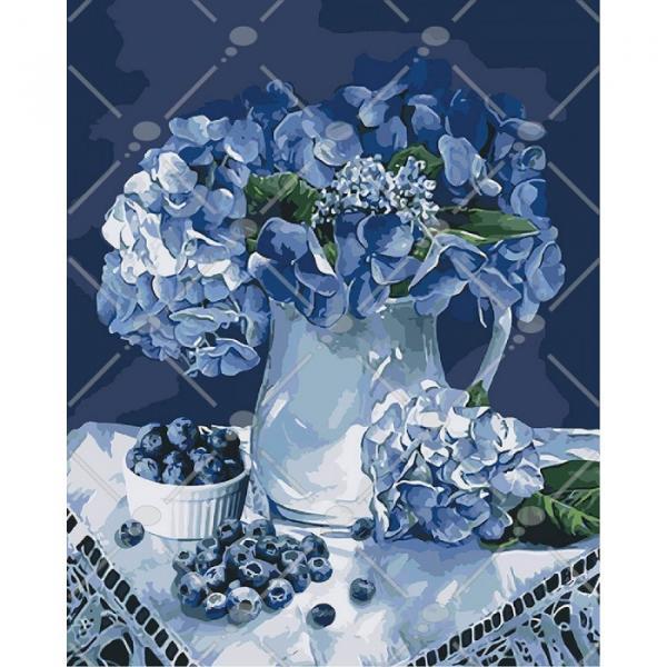 Фото Картины на холсте по номерам, Букеты, Цветы, Натюрморты KH 3036
