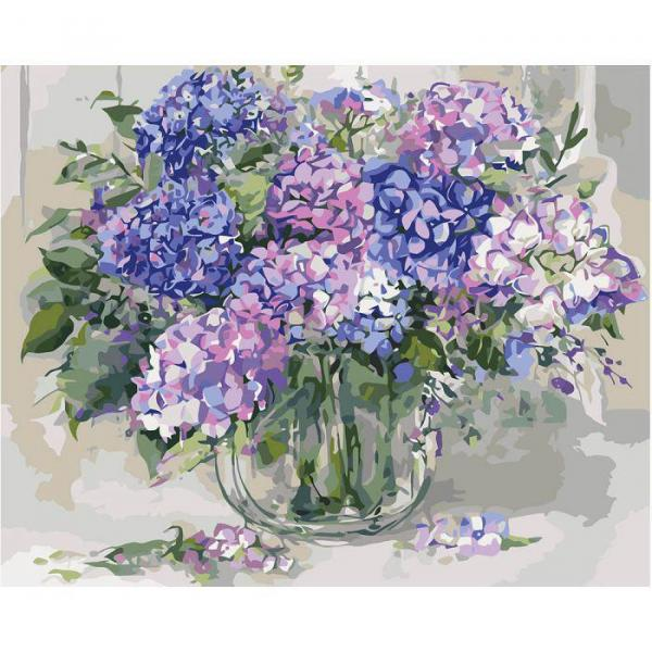 Фото Картины на холсте по номерам, Букеты, Цветы, Натюрморты KH 2938