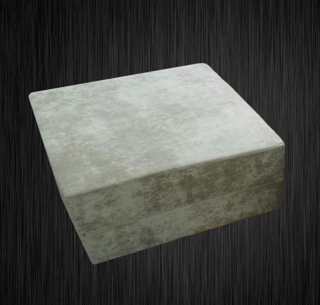 Фото  Пуф-кровать поролоновый бескаркасный раскладной 1,0х1,0х0,4м