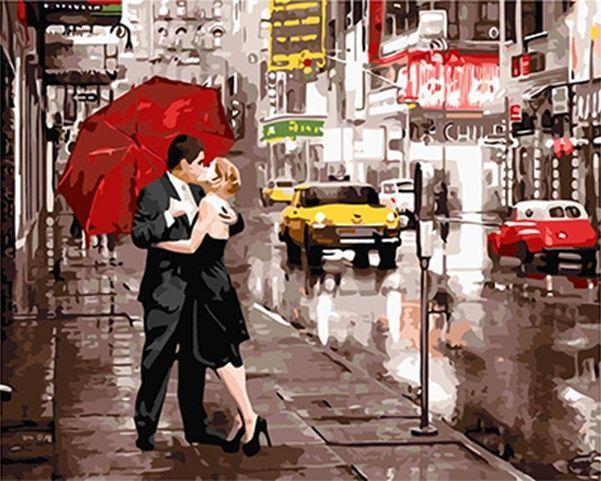 Фото Картины на холсте по номерам, Романтические картины. Люди KGX 5003