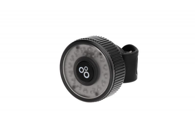 Фото АКСЕСУАРИ, Освітлення, Заднє світло Мигалка задня ONRIDE Donut 10 USB 10 Лм