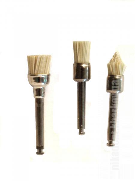 Фото Для стоматологических клиник, Полировочные системы Щетки для финишной полировки всех типов композитов Oclu-brush (Stoddard)