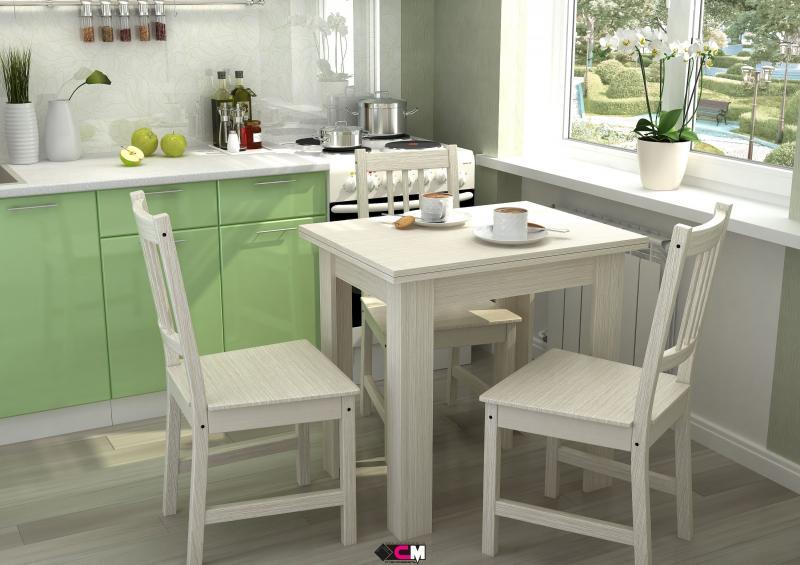 Фото Обеденные столы Стол кухонный раскладной (Стендмебель)