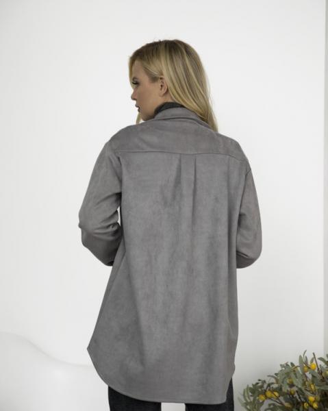 Фото  Рубашки ISSA PLUS 12267  XL серый