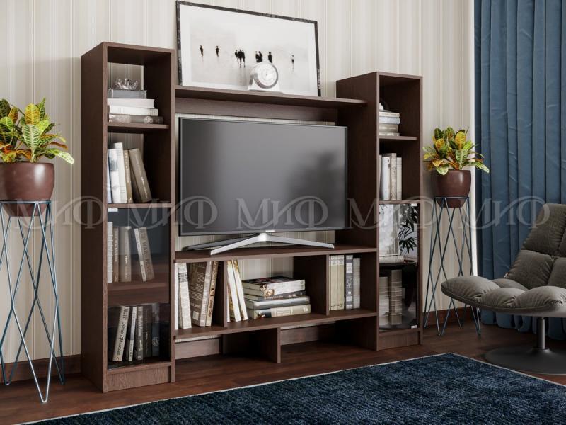 Фото Стенки и мебель для гостиной  Гостиная Мини-3 (МИФ)
