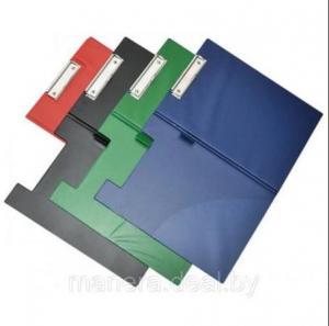 Фото Папки, файлы, планшеты, портфели, сумки (ЦЕНЫ БЕЗ НДС), Планшеты, папки-планшеты Планшет с зажимом, карманом и откидной крышкой из ПВХ,  А4, ассорти Q-Connect