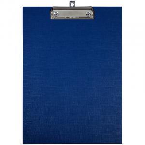 Фото Папки, файлы, планшеты, портфели, сумки (ЦЕНЫ БЕЗ НДС), Планшеты, папки-планшеты Планшет с зажимом OfficeSpace А4, бумвинил, синий