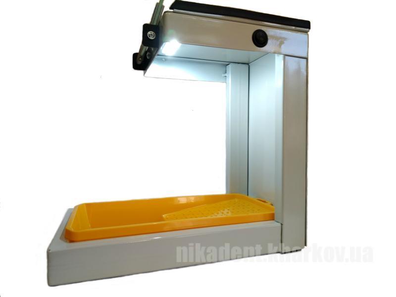 Фото Для зуботехнических лабораторий, ОБОРУДОВАНИЕ Бокс для шлиф мотора с подсветкой и защитным стеклом