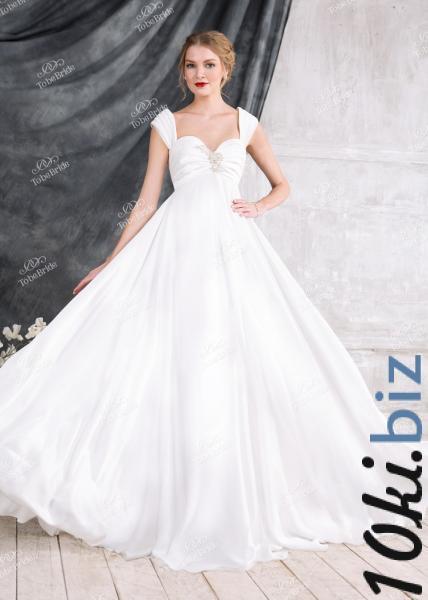 Свадебные платья - Платье Свадебное платье с высокой талией для беременных EM005