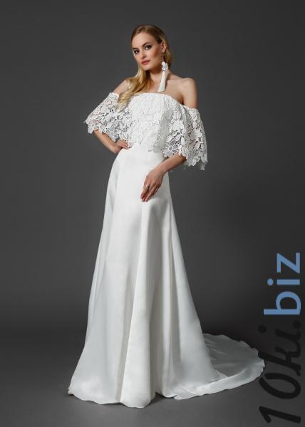 Свадебные платья - Длинное свадебное платье из атласа TB041 To be Bride