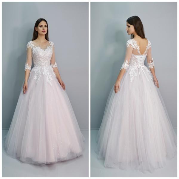 Свадебное платье для полных Биргит
