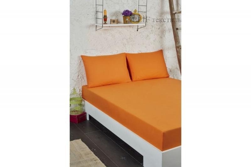 Фото Простыни на резинке Махровая простынь на резинке (Апельсиновый)