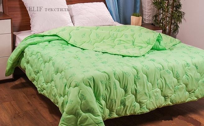 Фото Одеяла, Одеяло евростандарт Одеяло Бамбук стеганное демисезонное 200х220