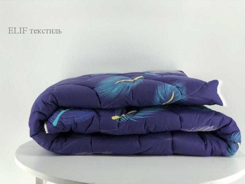 Фото Одеяла, Одеяло двуспальное Одеяло холлофайбер с простёганным чехлом 180х210