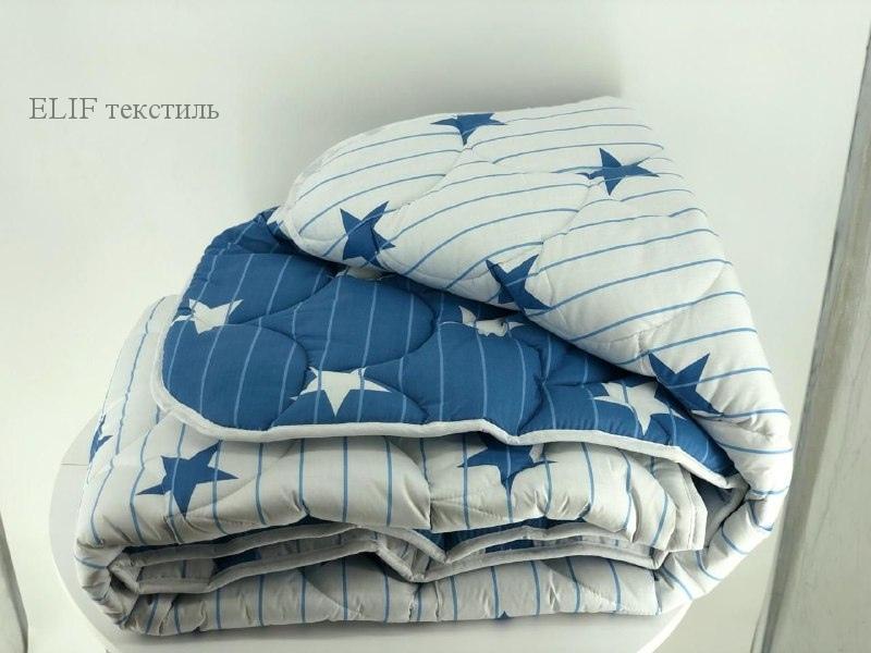 Одеяло холлофайбер с простёганным чехлом 180х210
