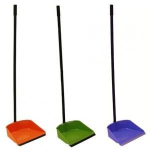 Фото Хозяйственные товары (ЦЕНЫ БЕЗ НДС), Инвентарь для уборки, губки, коврики для пола, стремянки Совок для мусора с высокой ручкой