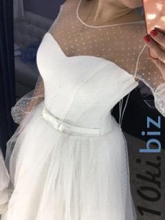 Свадебные платья - Блестящее легкое свадебное платье Саманта