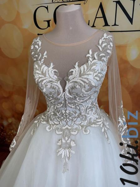 Свадебные платья - Пышное блестящее свадебное платье Миранда