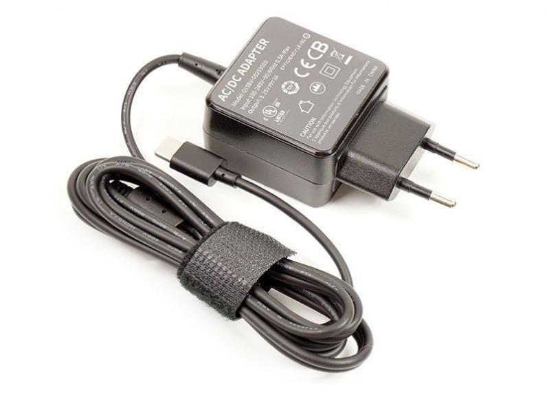 Универсальный блок питания для ноутбуков PowerPlant 220V, 5.25V 3A 15W Type-C