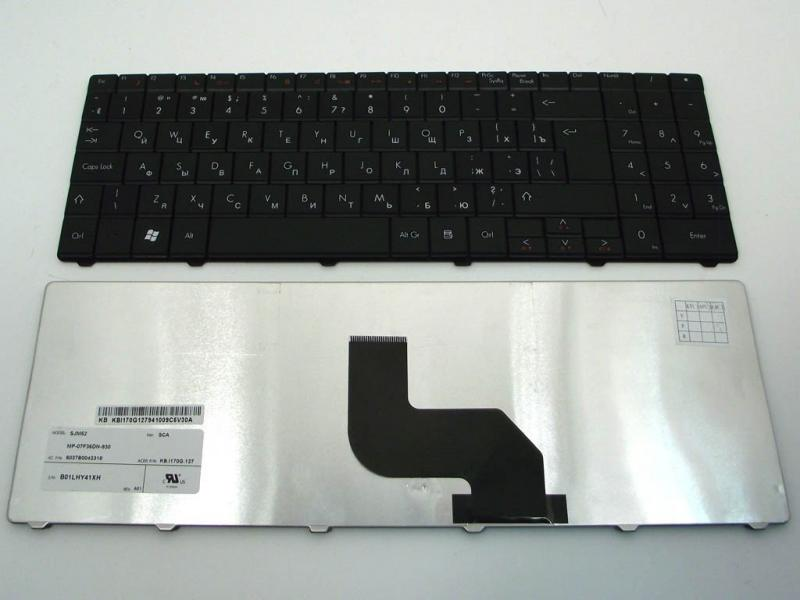 Клавіатура до ACER 5732, 5332, 5516, 5517, 5532, 5534, 5241, E625, E725. E727