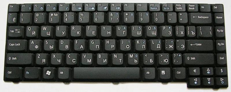 Клавіатура до ACER 2930, 2930Z, TM 6293, GW NO20T