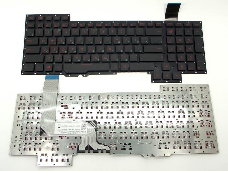 Клавіатура до ноутбука ASUS G751, G751J, G751JL, G751JM, G751JT, G751JY