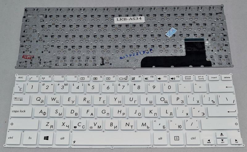 Клавіатура до ноутбука ASUS X201, X202, S200, S200E